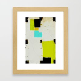 « quelque part » Framed Art Print