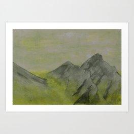 Seas of Sulfur Art Print