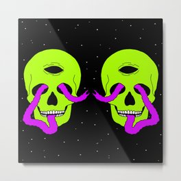 SPACE KEEPERS Metal Print