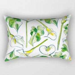 Aah, Lilies! Rectangular Pillow