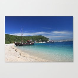 Ionian Sea Scape 2 Canvas Print