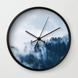 morning mountain Wall Clock