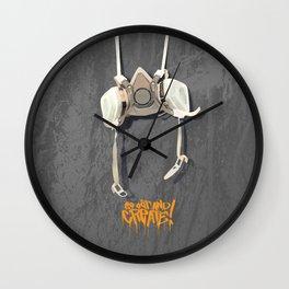 PSD Respirator GOAC! Wall Clock