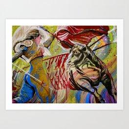 """The art of death"" Art Print"