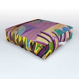 The Desert Within You Outdoor Floor Cushion