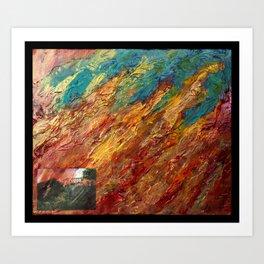 """""""Wish You Were Here"""" Art Print"""