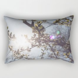 Blossoms in the Spring Rectangular Pillow