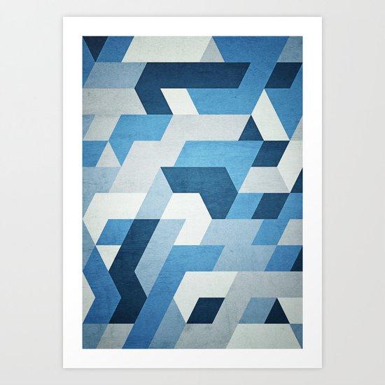 Abstract Geometry  Art Print