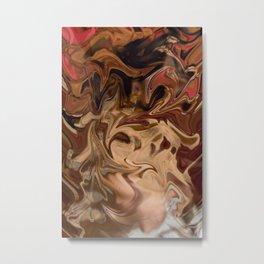 Sundae: two scoops of digital abstraction Metal Print