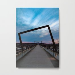 High Trestle Trail Metal Print