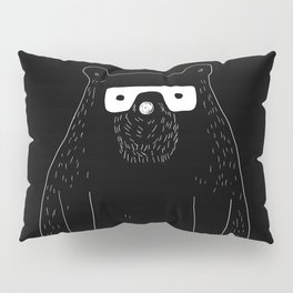 Bear with glasses Pillow Sham
