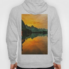 Sunrise on the Lake (Color) Hoody