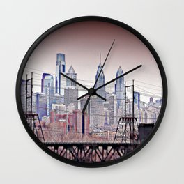 Philly Grit Wall Clock