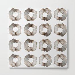 Mushroom Spore Prints Metal Print