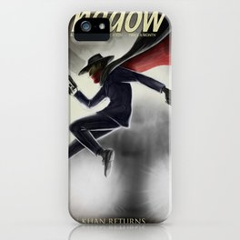 The Shadow Knows iPhone Case