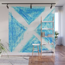 flag of scotland 7– scotland,scot,scottish,Glasgow,Edinburgh,Aberdeen,dundee,uk,cletic,celts,Gaelic Wall Mural