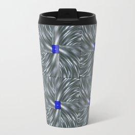 Making Waves Gray Travel Mug