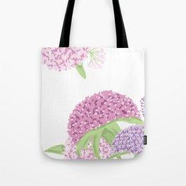 Beautiful hydrangeas Tote Bag