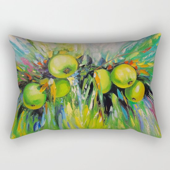 Juicy apples Rectangular Pillow