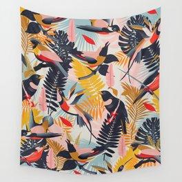 Paradise Birds II. Wall Tapestry