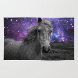 Horse Rides & Galaxy skies Rug