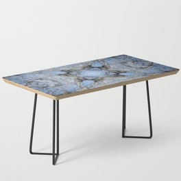 MAGIC WINTER COTTONWOOD MANDALA Coffee Table