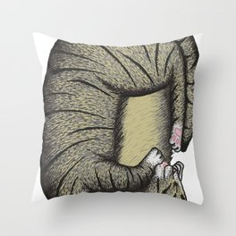 Gato Throw Pillow