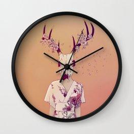 Sakura Lady Wall Clock