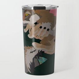 Coyote and Galaxies  Travel Mug