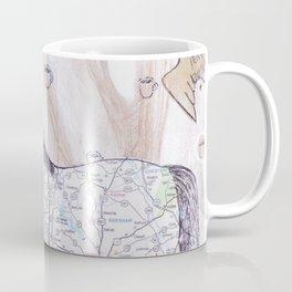 Snowy Evening Woods Coffee Mug