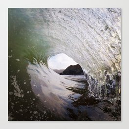 Oil Glass Tube Canvas Print