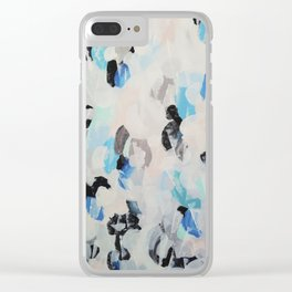 Abstract painting 2 Clear iPhone Case