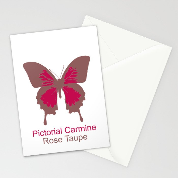 Butterfly 1 Stationery Cards