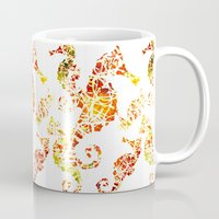 sea horse Mugs featuring Sea-Horse by LIGHTNING9