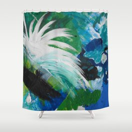 Sweet Sad Thoughts Shower Curtain