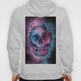 skull black art decor Hoody