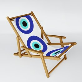 Blue Eye Sling Chair