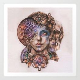 Senua portrait Art Print
