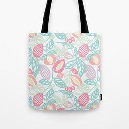 Pastel Fruits Tote Bag