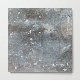 distressed Metal Print