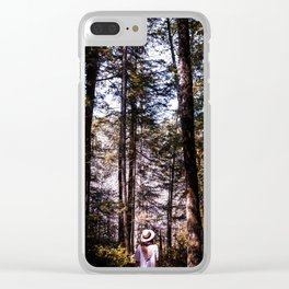Getting lost... Clear iPhone Case