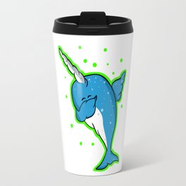 Narwhale Dabbing Travel Mug