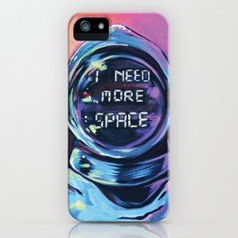 MY NEEDS  iPhone Case
