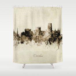 Durham England Skyline Shower Curtain