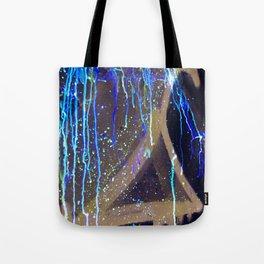 Graffiti & Glow Paint Tote Bag