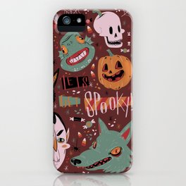 Let's Get Spooky! iPhone Case