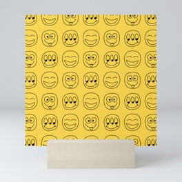 Smile Emoji Mini Art Print