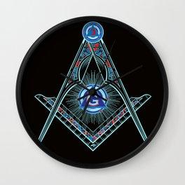 Freemason Symbol Wall Clock