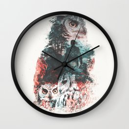 Not What They Seem Inspired by Twin Peaks Wall Clock