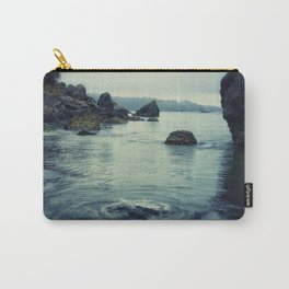 Beauty in Old Home Beach Carry-All Pouch